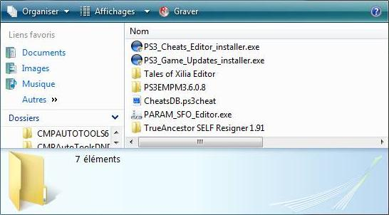 [PS3-CHEAT] TUTO: Utiliser CMPAUTOTOOLS 6.3 Captur33