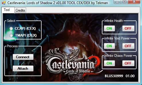 [PS3] Tool RTE Castlevania: Lords of Shadow 2 V01.00 CEX/DEX Captur70