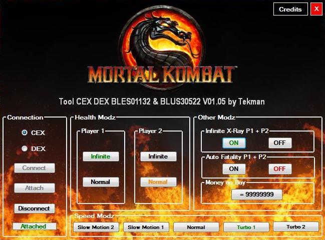 [PS3] Mortal Kombat V01.05 Tool CEX/DEX (EUR/USA) by Tekman Captur80