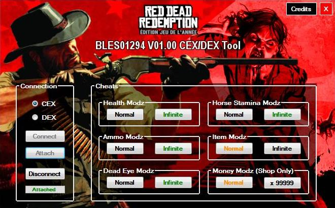 [PS3] Red Dead Redemption GOTY V01.00 Tool CEX/DEX (EUR) by Tekman Captur88