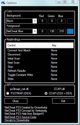 [PS3] RTE CEX: Installer et Utiliser NetCheat PS3 Captur92