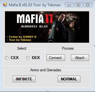 Tool RTE Mafia II v01.03 CEX/DEX Mafia_10