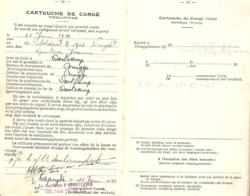 Hommage à mon arrière grand père, volontaire belge pour le RASC 15444610