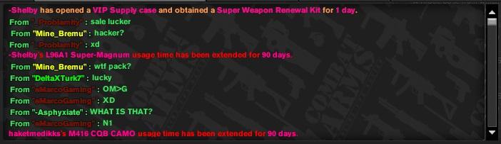 combien de  renawal kits  Combat10