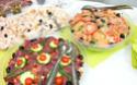 ENTREES FROIDES salades composées et hors-d'oeuvres (divers) Via110