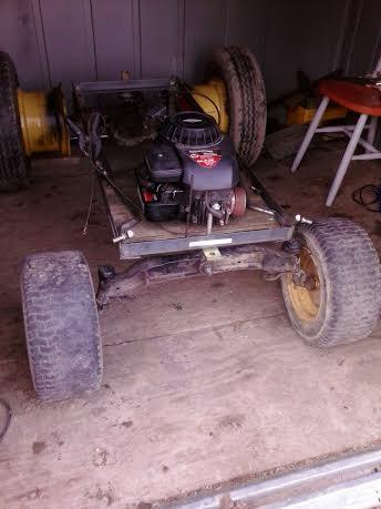 Truckin42's Go Kart/Tractor Build 111