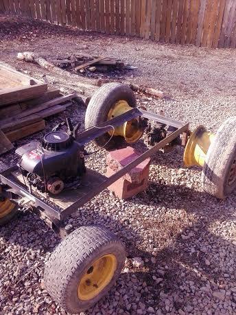 Truckin42's Go Kart/Tractor Build 211