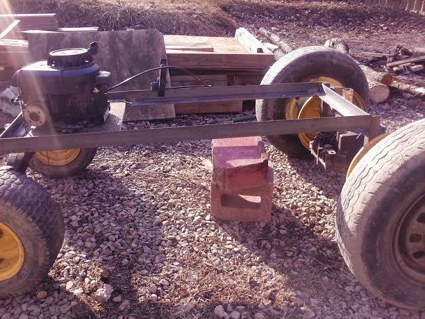 Truckin42's Go Kart/Tractor Build 311