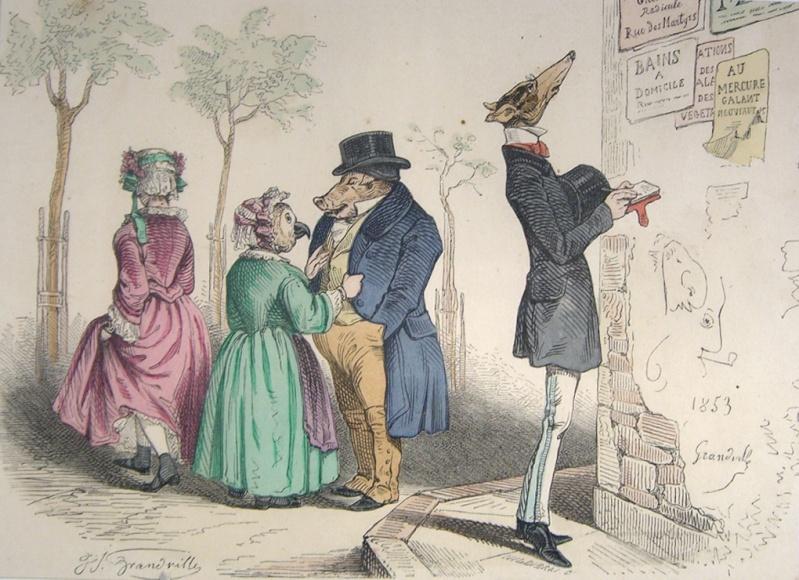 GRANDVILLE (1803-1847) Grandv11