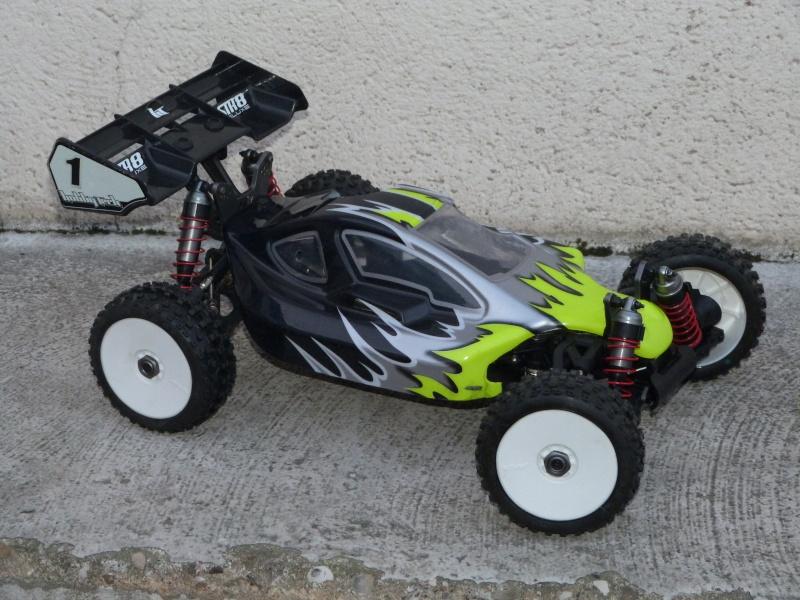 STR8 DELUXE Hobbytech Conversion BL P1120210