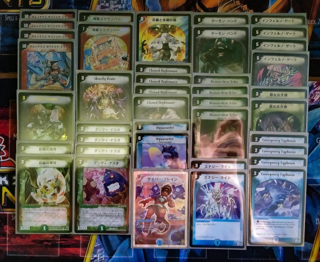 [OCG Legacy Deck 2006] Bolmeteus Sapphire Dragon Deck Psx_2015