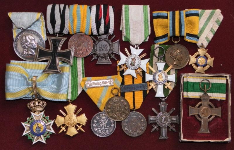 Ma collection de médailles 1ère Guerre Mondiale - Allemagne et Autriche-Hongrie 3-saxe10