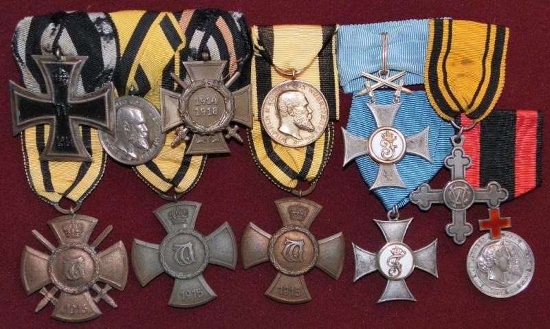 Ma collection de médailles 1ère Guerre Mondiale - Allemagne et Autriche-Hongrie 4-wurt10