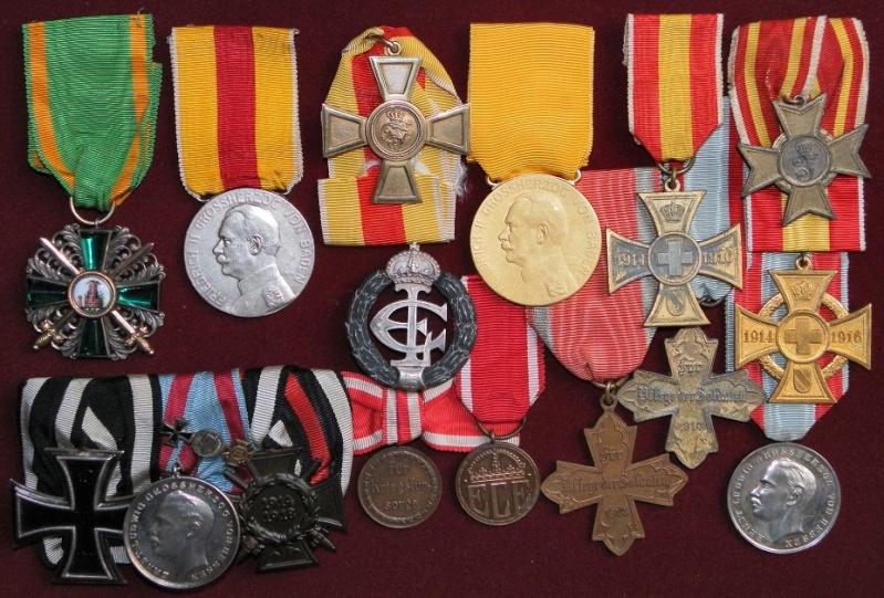 Ma collection de médailles 1ère Guerre Mondiale - Allemagne et Autriche-Hongrie 5-bade10