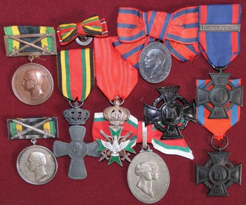 Ma collection de médailles 1ère Guerre Mondiale - Allemagne et Autriche-Hongrie 7-saxe10