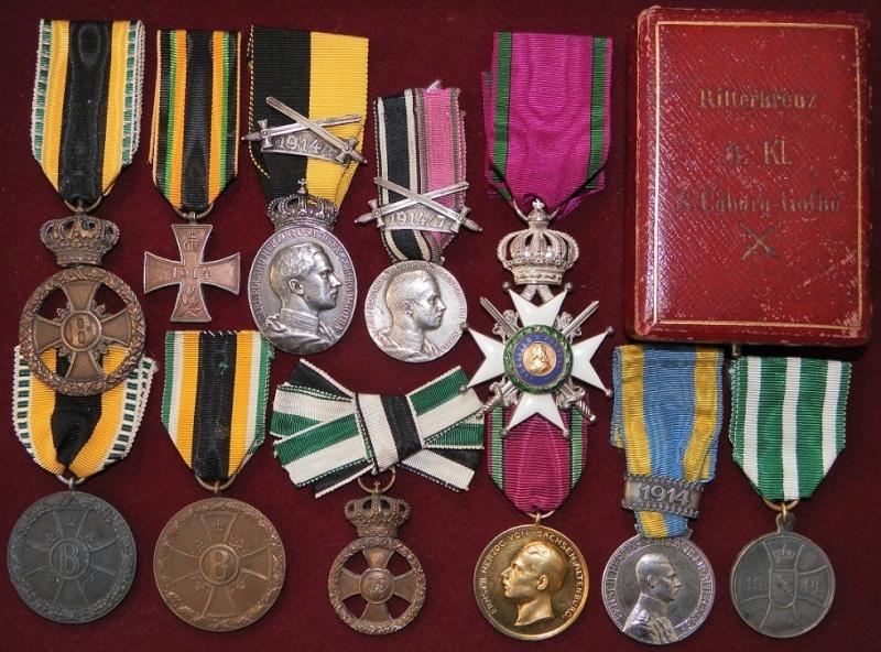 Ma collection de médailles 1ère Guerre Mondiale - Allemagne et Autriche-Hongrie 8-duch11