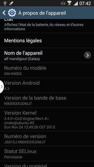 [ROM 4.4.2][SM-N9005] CivZ_FlexKat_Rev2.5 + SneakyKat_Rev1.5 [XXUEND5] [29.04.2014] 2013-135