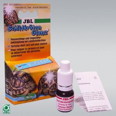 Entretien de la carapace et contrôle des parasites. Antiparasite externe pour tortues de terre. Jbl10