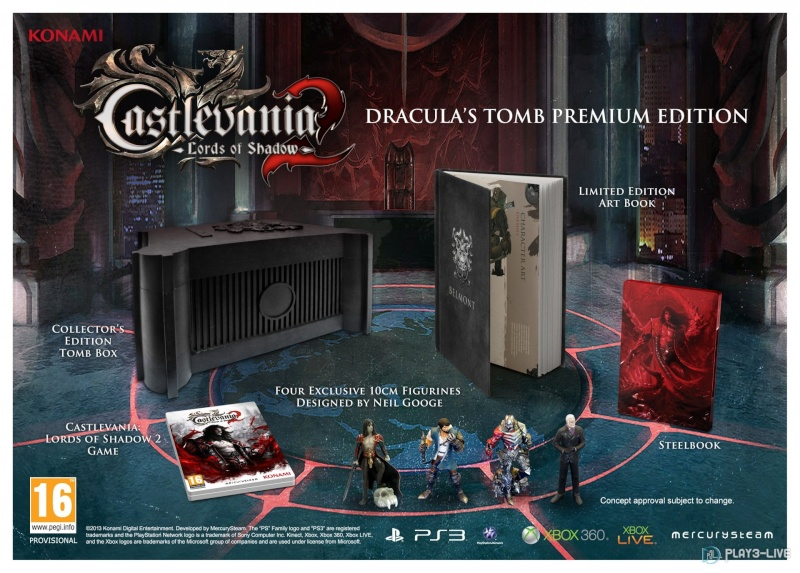 Castlevania Lord of Shadow 2 edition collector Castle10