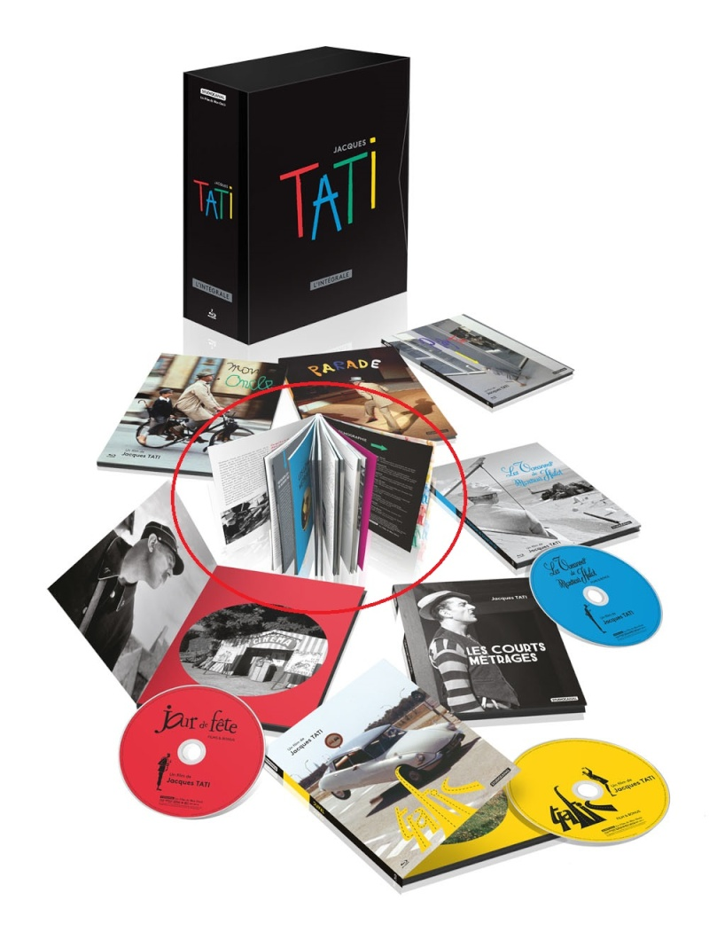 Jacques Tati L'intégrale  Coffre10