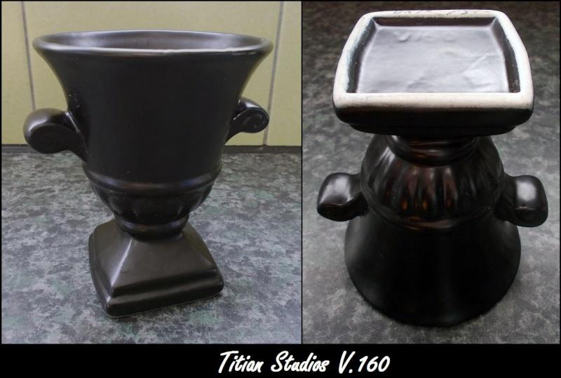 Small black V160, Is Diana Pottery Australia Dscn2611