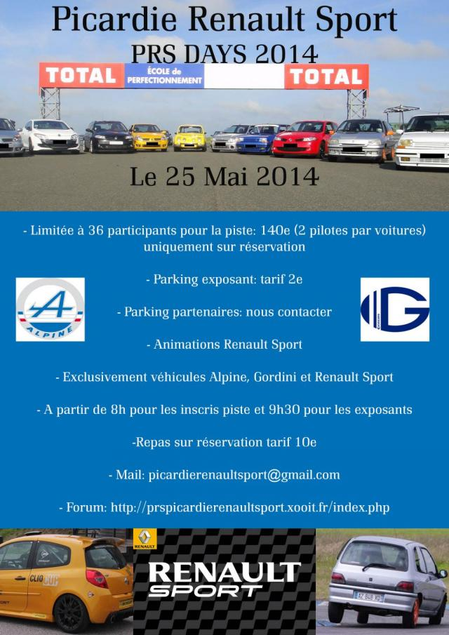 Picardie Renault Sport DAYS edition 2014 Prs1po10