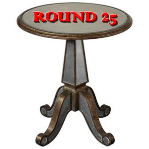 Round #25 .. 25/10/2013 R2510