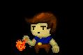 Guy tossing Fireball Fireba10