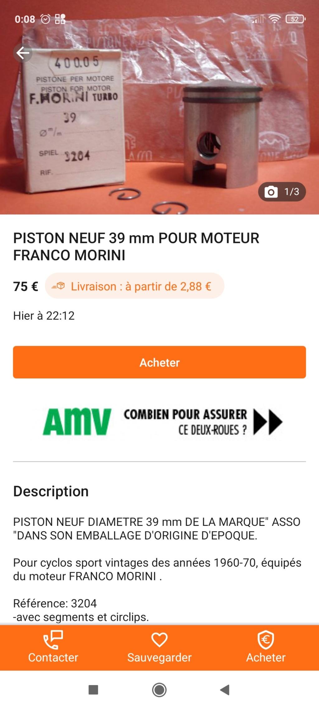 site piston morini franco Screen24