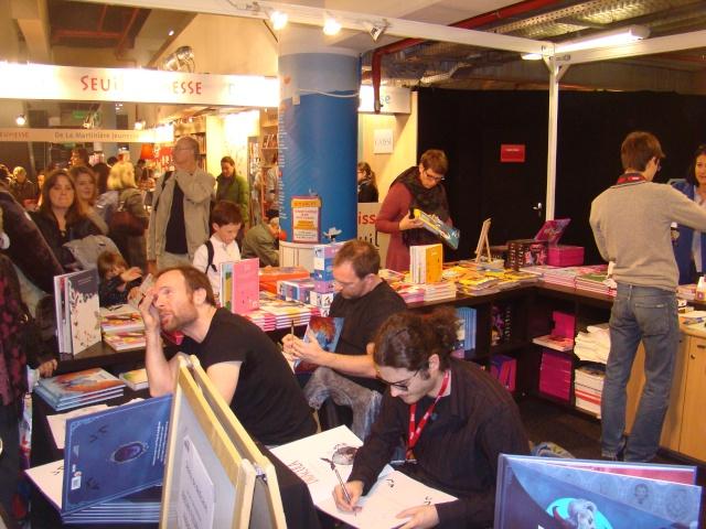 Salon du livre et presse jeunesse Montreuil 2013  - Page 4 Dsc05711