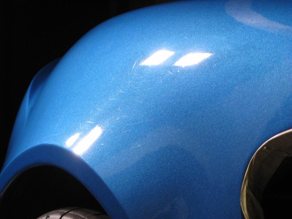 ELMO Car Care vs Lotus Elise S2 laser blu Img_6411