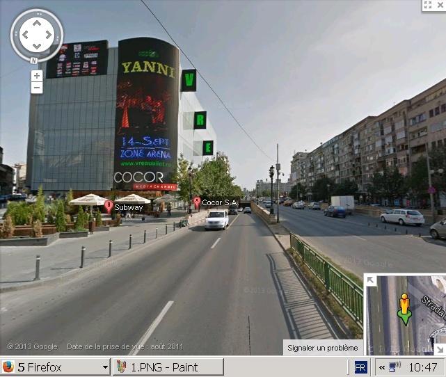 STREET VIEW : le Buzz, un bâtiment en construction, deux pas...Bucarest, Roumanie 210