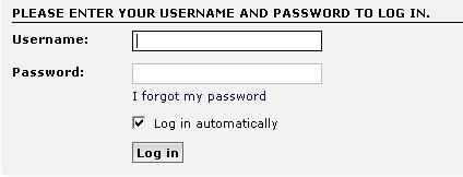 logging on Login10