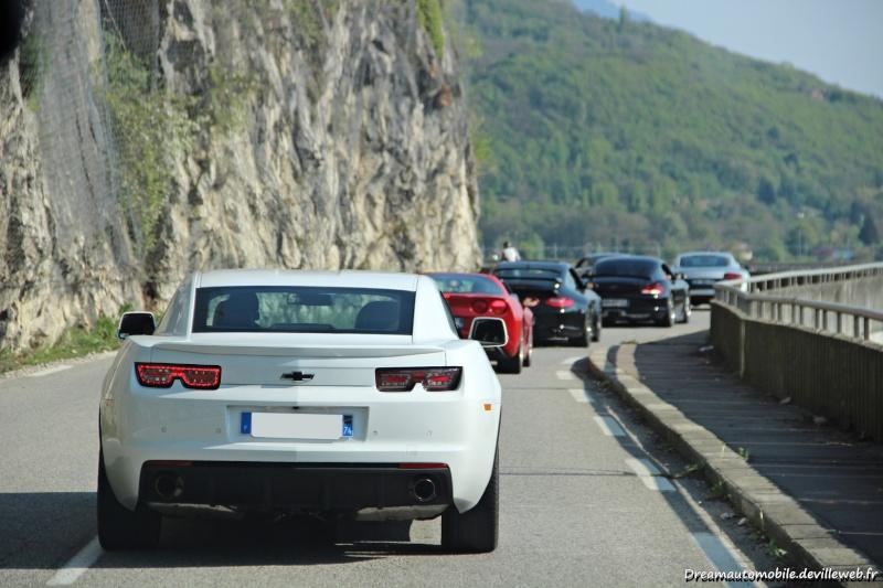 CAMARO V8 blanche de SMAT74 20142012