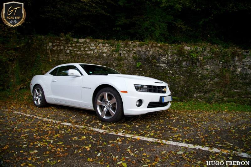 CAMARO V8 blanche de SMAT74 3quart12