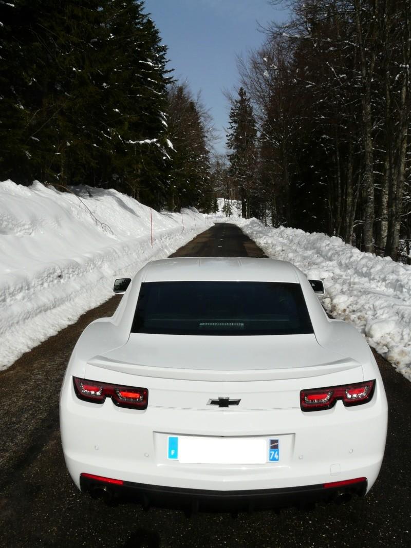 CAMARO V8 blanche de SMAT74 Arrier12