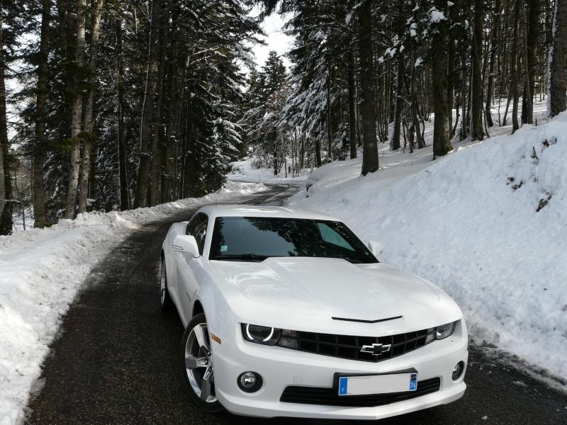CAMARO V8 blanche de SMAT74 Avant_12