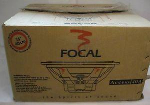 """Focal Access 40A 16"""" high power 800W subwoofer Box12"""