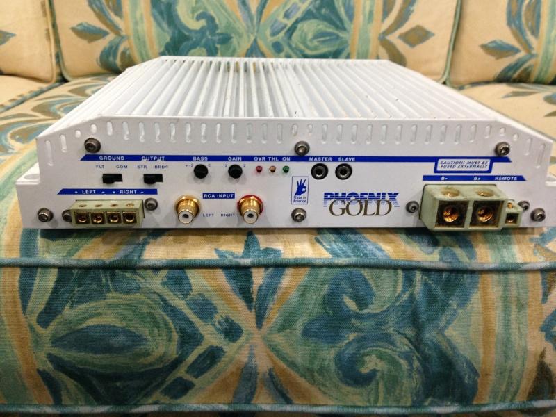 Phoenix Gold MPS- 2240 power amplifier - Old School Img_1011