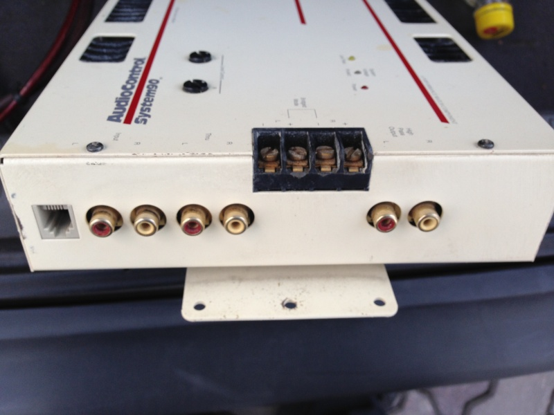 Audio Control System 90 Model 25 Power Amplifier Img_1111