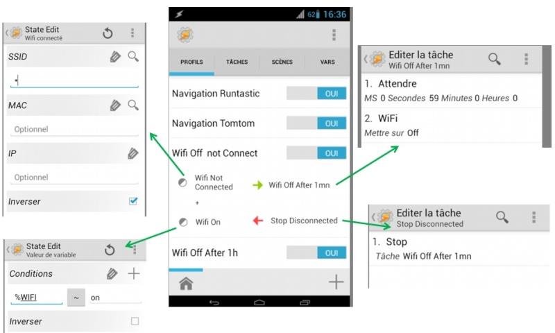 [APP] Tasker : Personnaliser et automatiser des tâches sous Android [Trial/Payant] - Page 3 Discon10