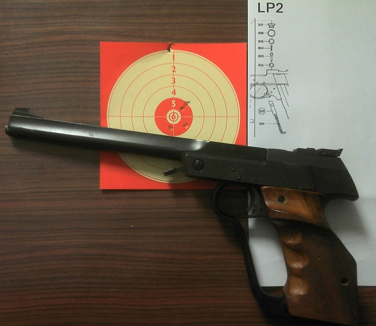 Walther LP2  Pistol11