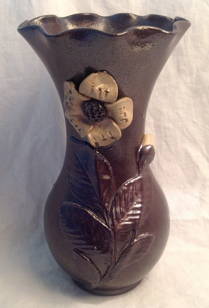 Calvados bottle by Turgis Pottery (Normandy) 501dea10