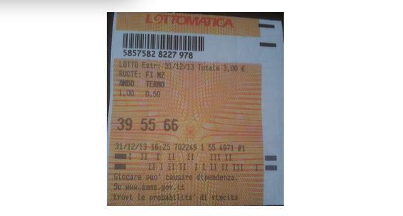 "GIUSEPPE CHIARAMIDA | 13/14 GENNAIO 2014 | AL TERZO COLPO AMBETTO 34-55 SU BARI DAL METODO ""LOTUS"" - Pagina 2 665510"