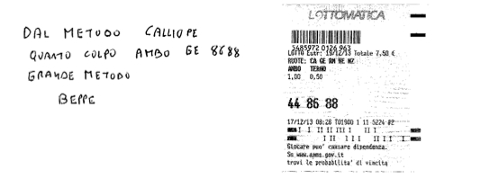 "GIUSEPPE CHIARAMIDA | 13/14 GENNAIO 2014 | AL TERZO COLPO AMBETTO 34-55 SU BARI DAL METODO ""LOTUS"" - Pagina 2 86bepp10"