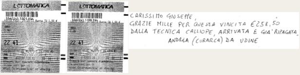 "GIUSEPPE CHIARAMIDA | 13/14 GENNAIO 2014 | AL TERZO COLPO AMBETTO 34-55 SU BARI DAL METODO ""LOTUS"" - Pagina 2 Ca223410"