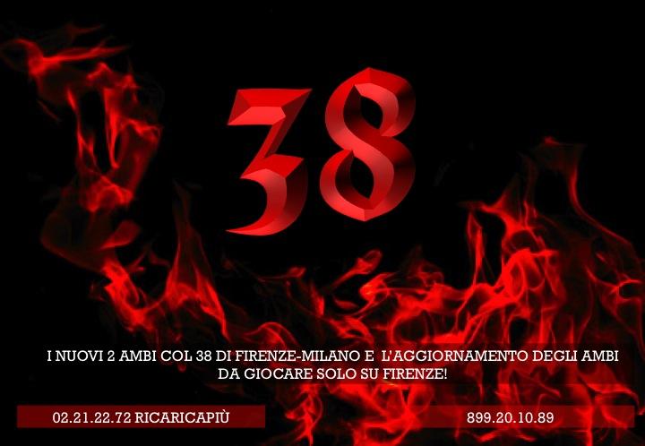 GIUSEPPE CHIARAMIDA   22/23/24/25 GENNAIO 2014   IL 38 INFIAMMA LA RUOTA DI FIRENZE! - AL QUARTO COLPO AMBETTO 20-38 SU FIRENZE! Diapo115