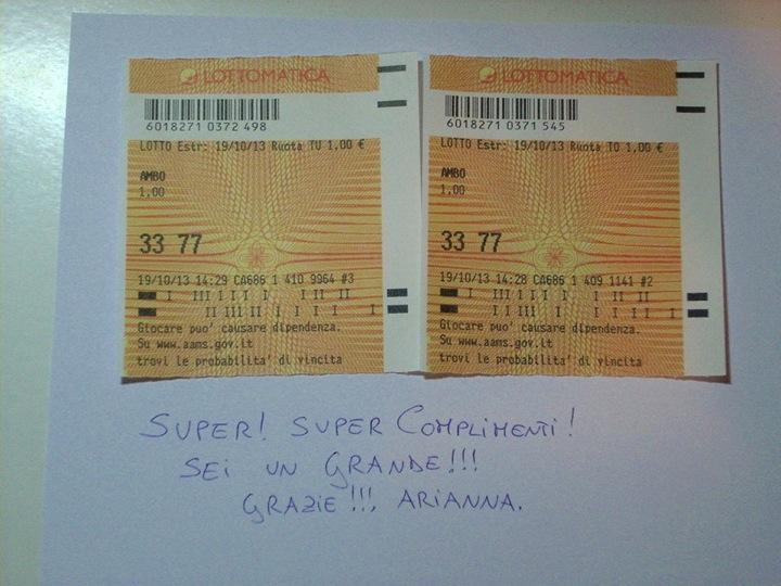 HALLOWEEN PARTY 2013: Ecco il dolcetto di Giuseppe Chiaramida | 33-40 AMBO SECCO UNICO SU TUTTE! Diapos36
