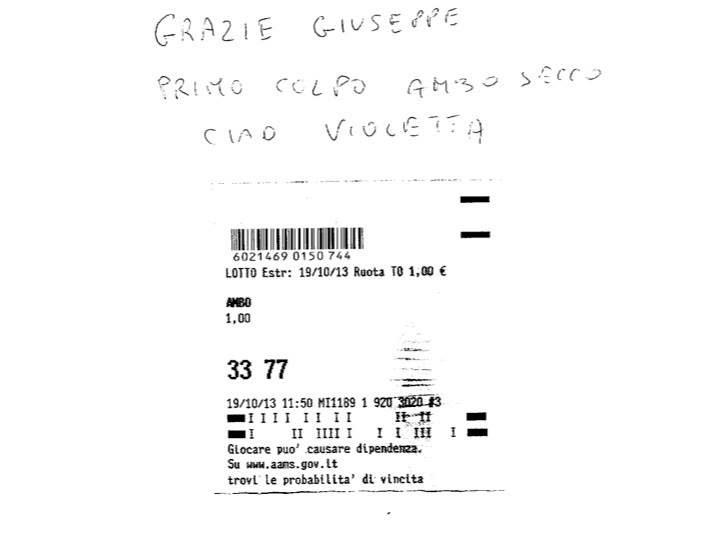 HALLOWEEN PARTY 2013: Ecco il dolcetto di Giuseppe Chiaramida | 33-40 AMBO SECCO UNICO SU TUTTE! Diapos39
