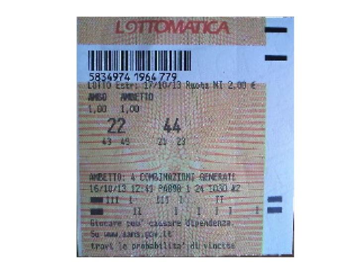 HALLOWEEN PARTY 2013: Ecco il dolcetto di Giuseppe Chiaramida | 33-40 AMBO SECCO UNICO SU TUTTE! Diapos41